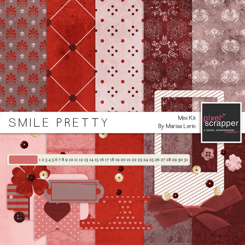 Smile Pretty Mini Kit valentine s day love red
